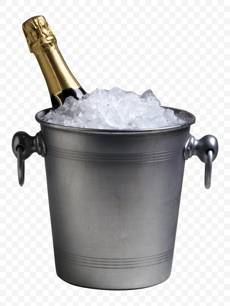 瓶子 玻璃瓶 酒瓶 香槟 冰块
