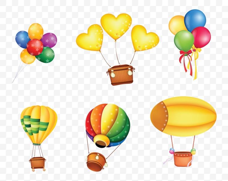 气球 五彩气球 热气球