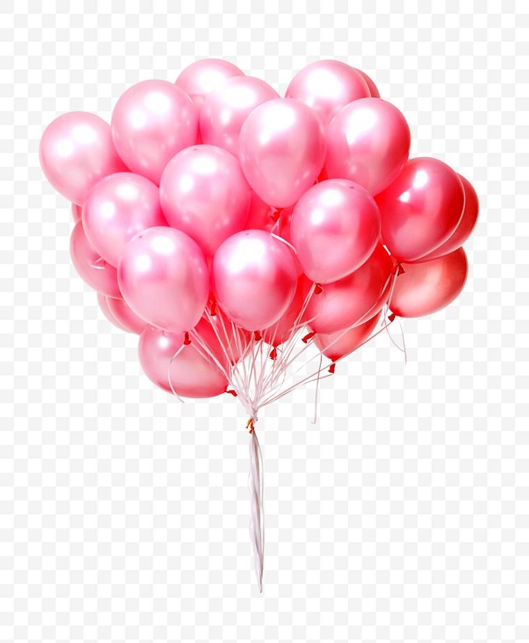 粉色气球 气球
