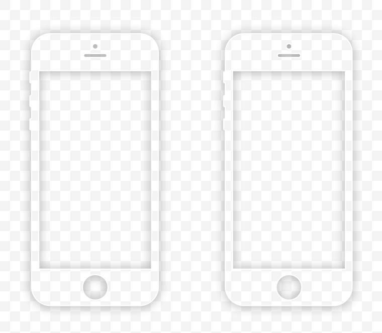 iPhone 手机 手机样机 手机模型 苹果手机 手机线条