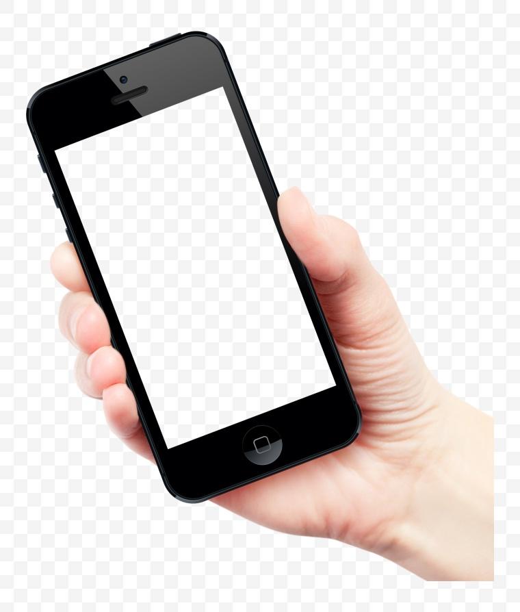 手拿手机 黑色手机 iphone 手机 样机 手机样机