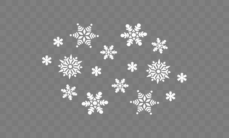 雪花 雪花素材 冬天雪花 冬天 冬季 圣诞雪花 圣诞节 圣诞