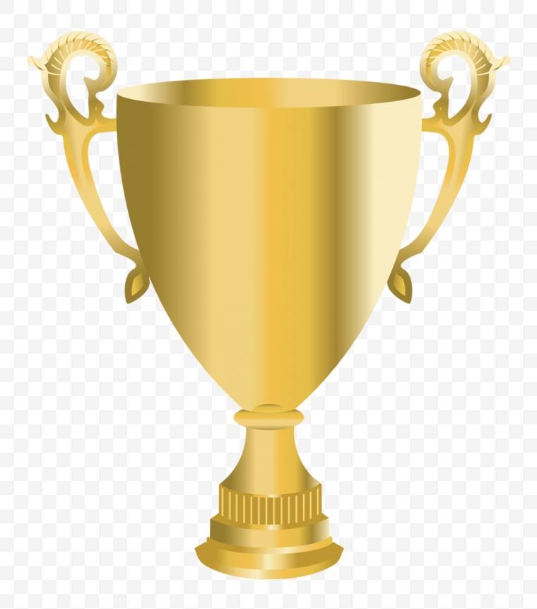 金色奖杯 奖杯 金杯