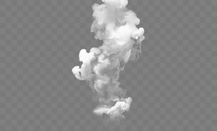 白色烟雾 烟雾