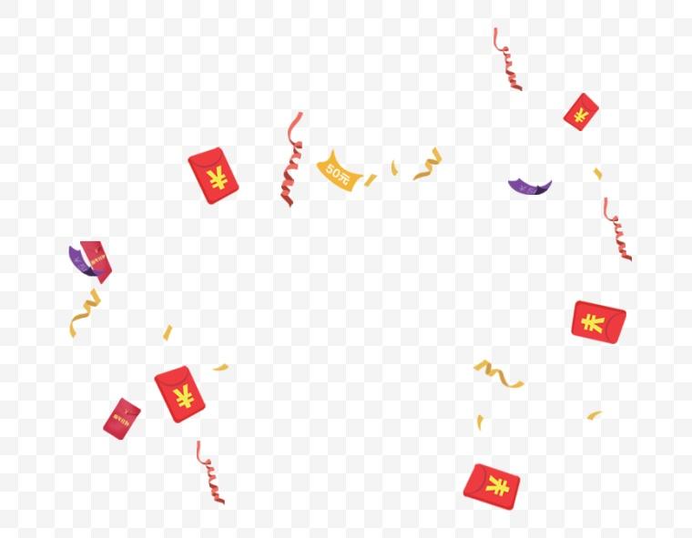 漂浮红包 红包 优惠券 促销 活动