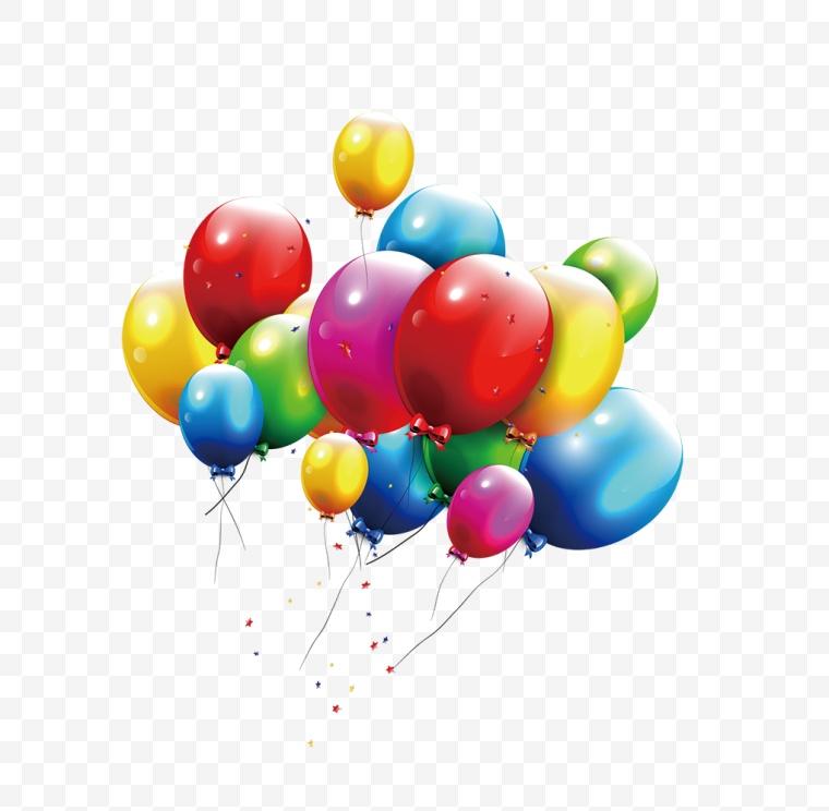 彩色气球 气球 节日 活动 促销 生日 开心 开学