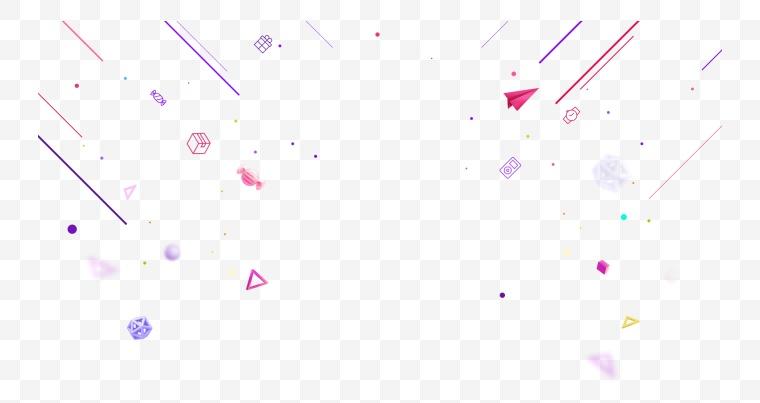 动感线条 漂浮元素 双11 双十一 双12 双十二 618