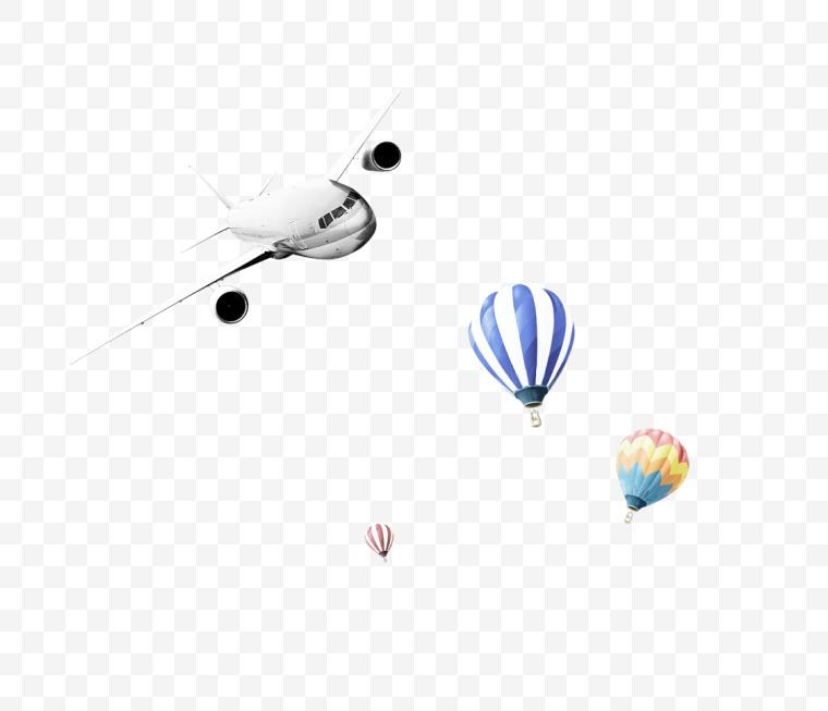 热气球 飞机 活动 节日 节庆 设计元素