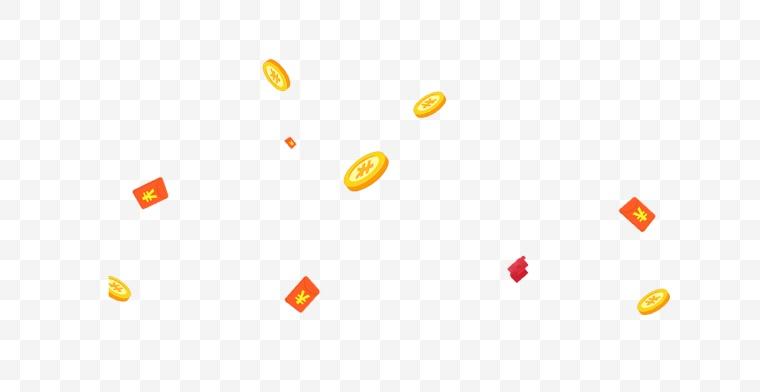 漂浮元素 电商素材 电商氛围 活动氛围 活动元素 活动装饰 装饰元素 元素 小元素 红包 金币