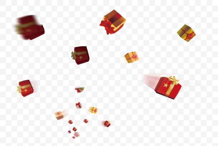 礼盒 礼物 盒子 动感礼盒 漂浮礼盒 圣诞节