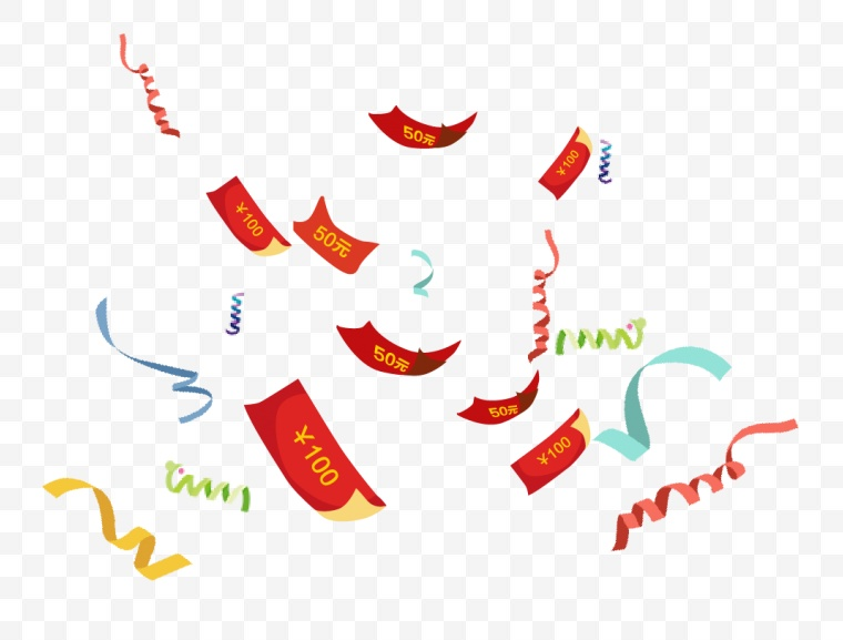 漂浮元素 电商素材 电商氛围 活动氛围 活动元素 活动装饰 装饰元素 元素 小元素 漂浮优惠券 优惠券 双十一 双11 双十二 双12