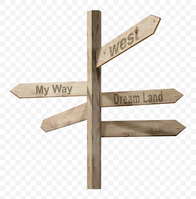指示牌 指路牌 指示 标志 箭头 东南西北