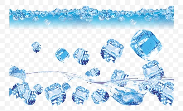 冰块 冰 冰爽 夏天 冬天 水