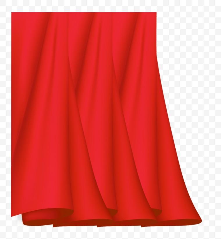 幕布 帘子 红布 幕帘 舞台