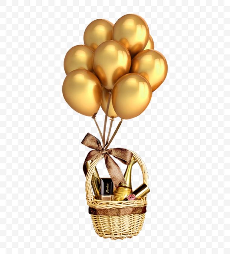 金色气球 气球 生日 生日会 活动 促销 元素 设计元素