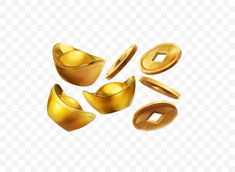 元宝 金元宝 金子 金币 古代钱币 喜庆