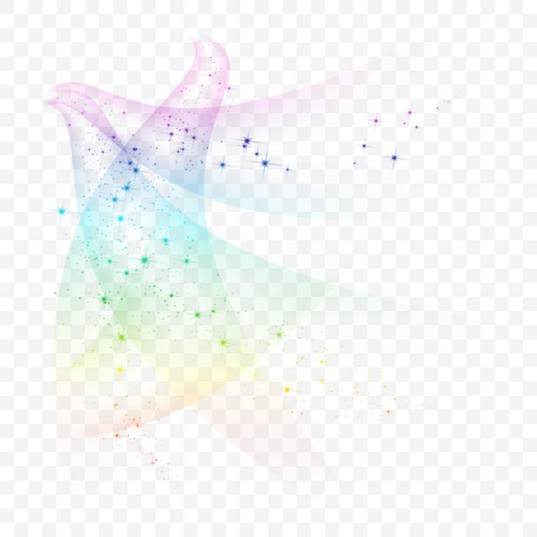 魔法光效 魔法特效 光效 魔法 魔术光效 光点 彩色光效 星星