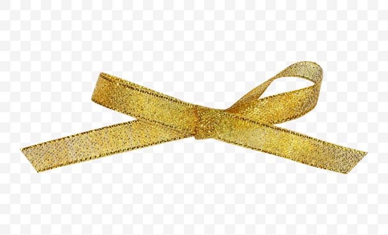 丝带 金色丝带 金丝带 彩带 装饰 礼物装饰 蝴蝶结