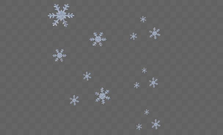 下雪 雪花 冬天 冬季 雪 圣诞 圣诞节