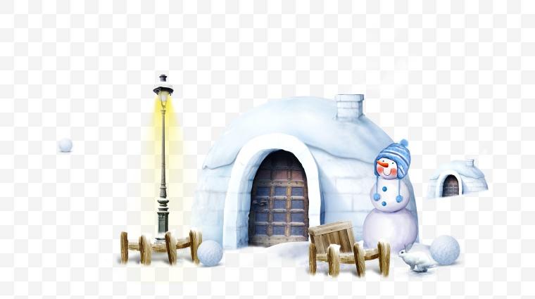 圣诞雪景 圣诞 雪景 冬天 冬季 雪屋 圣诞节