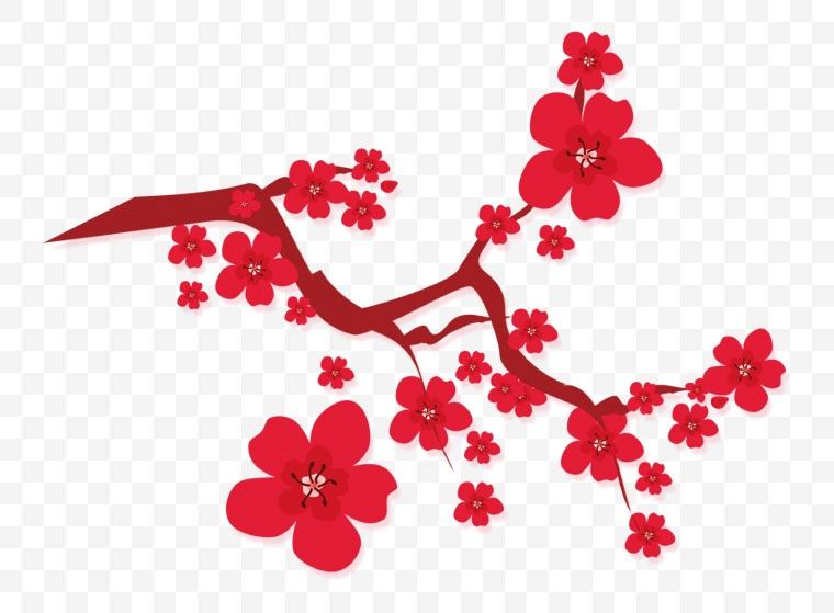 古典梅花 古典 梅花 中国风 新年 新车 春节 年货节 年味 过年