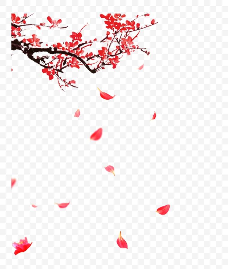 古典梅花 古典 梅花 中国风 新年 新春 春节 年货节 元宵 元宵节 腊梅