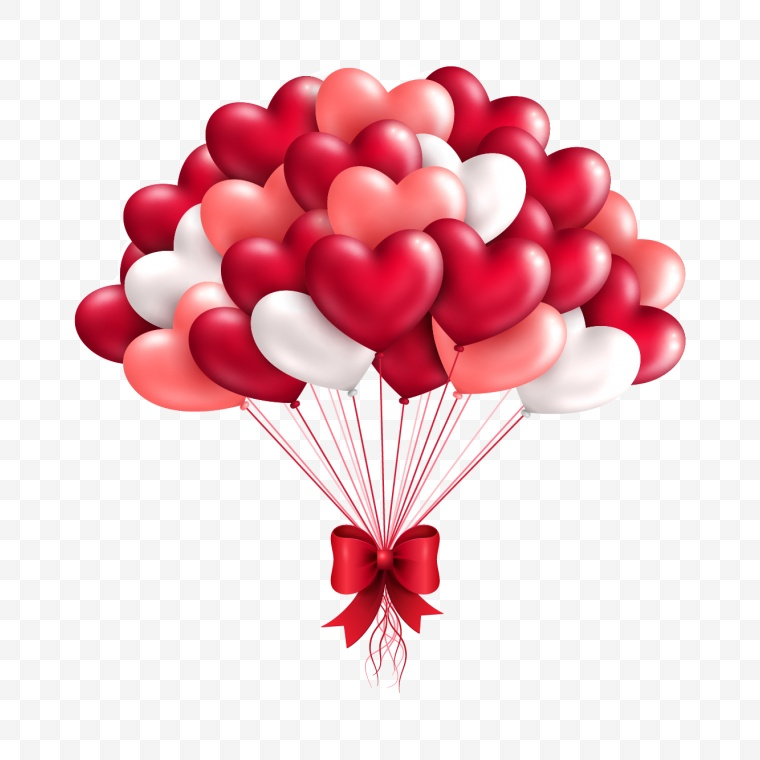 心形气球 心形 气球 心 气氛