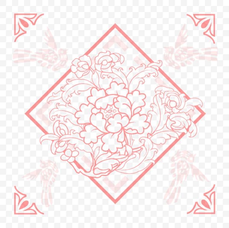 古典花纹 古典 花纹 暗纹 中国风 新年 新春 春节 年货节