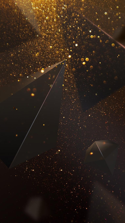 金色颗粒 金色背景 金色粒子 粒子 颗粒 金色 金色背景 金色光斑