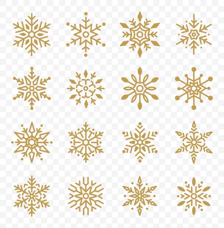 雪花图标 雪花 矢量雪花 冬天 冬季 冬 圣诞节 圣诞