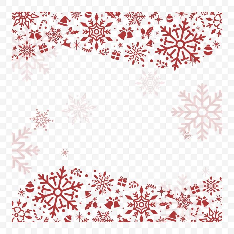 矢量雪花 雪花 冬天 冬季 冬 圣诞节 圣诞